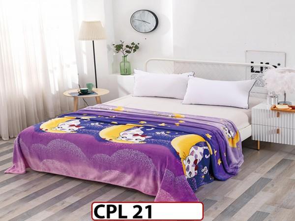 Patura Pufoasa Cocolino pentru pat dublu CPL21