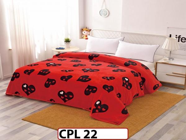 Patura Pufoasa Cocolino pentru pat dublu CPL22