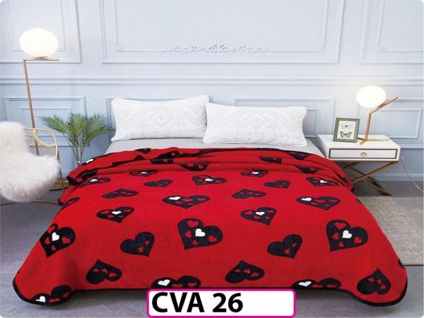 Patura Pufoasa Cocolino pentru pat dublu CVA26