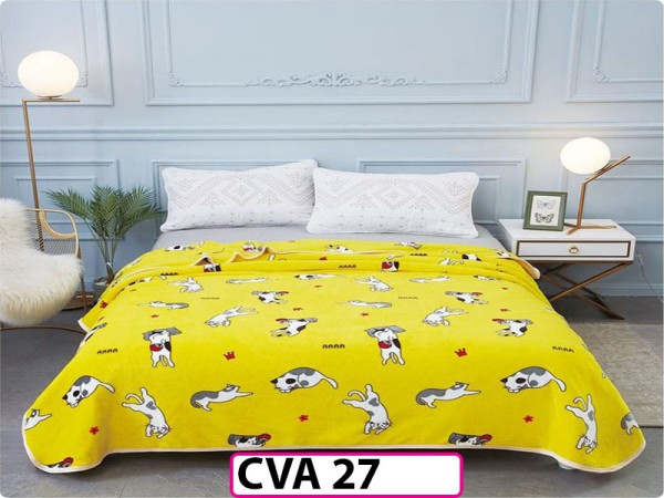 Patura Pufoasa Cocolino pentru pat dublu CVA27