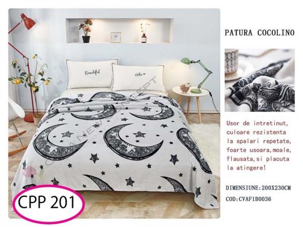 Patura Pufoasa Cocolino pentru pat dublu CPP 201