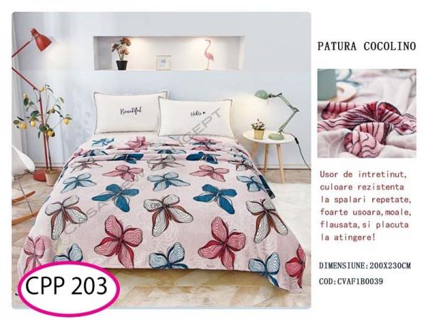 Patura Pufoasa Cocolino pentru pat dublu CPP 203