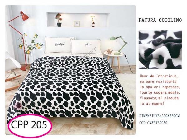 Patura Pufoasa Cocolino pentru pat dublu CPP 205