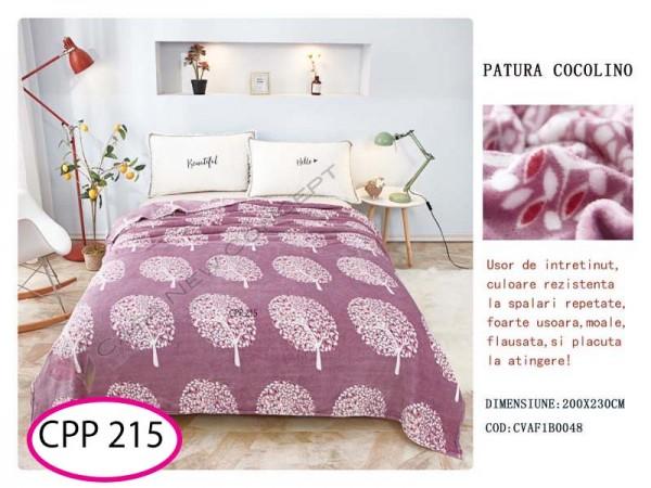 Patura Pufoasa Cocolino pentru pat dublu CPP 215