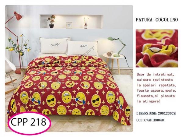 Patura Pufoasa Cocolino pentru pat dublu CPP 218
