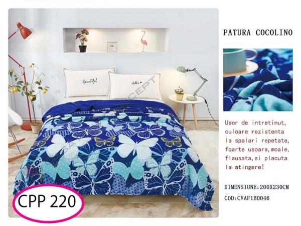 Patura Pufoasa Cocolino pentru pat dublu CPP 220