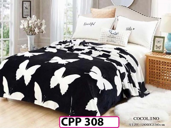 Patura Pufoasa Cocolino pentru pat dublu CPP 308