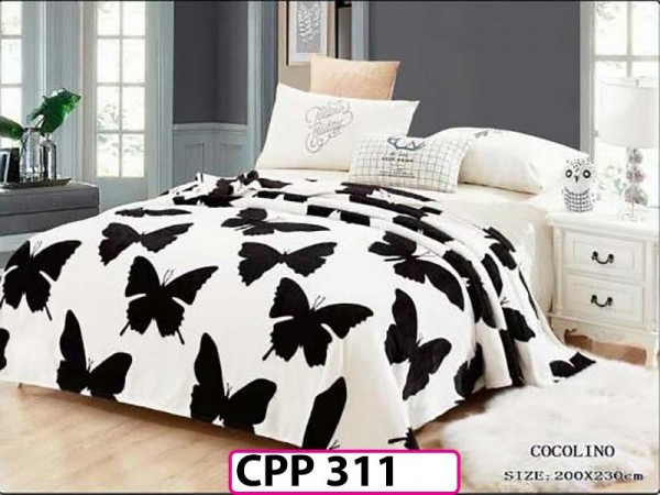 Patura Pufoasa Cocolino pentru pat dublu CPP 311