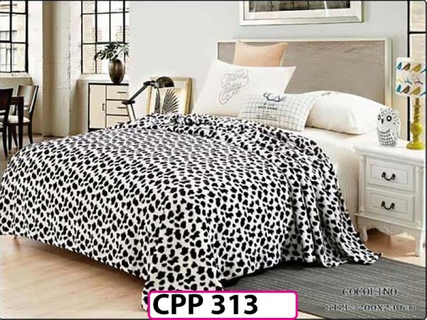 Patura Pufoasa Cocolino pentru pat dublu CPP 313