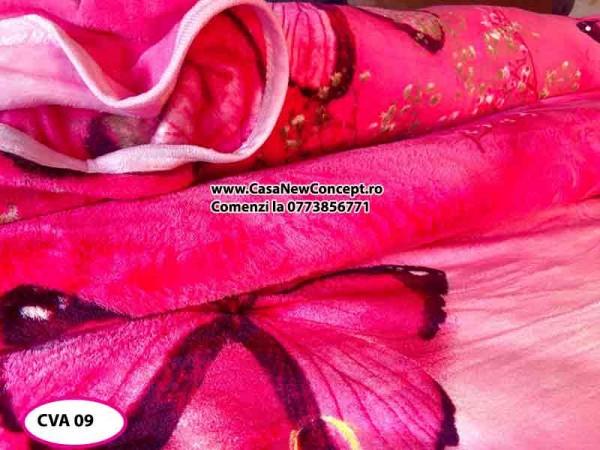 Patura Pufoasa Cocolino pentru pat dublu CVA 09