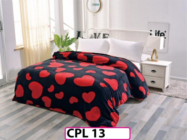 Patura Pufoasa Cocolino pentru pat dublu CPL13