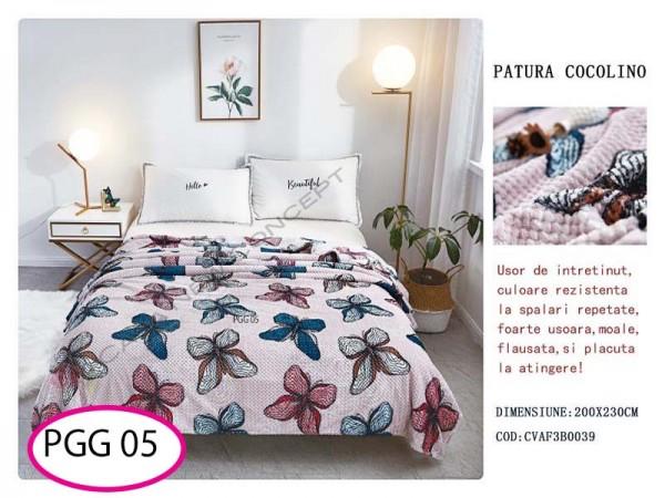 Patura Pufoasa Cocolino Grofata pentru pat dublu PGG 05