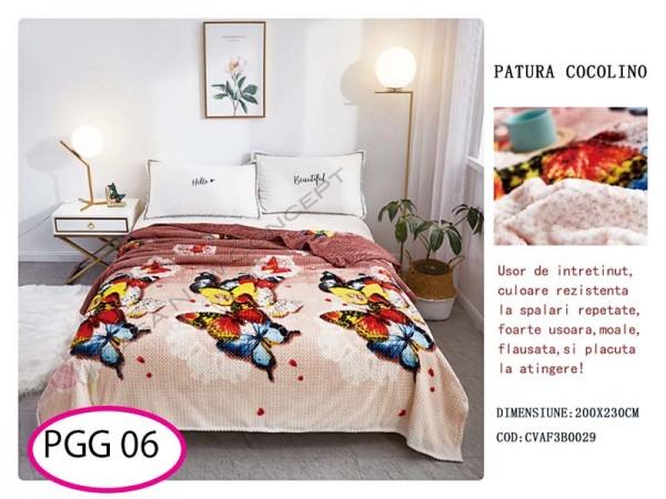 Patura Pufoasa Cocolino Grofata pentru pat dublu PGG 06