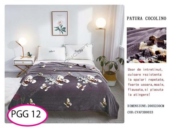 Patura Pufoasa Cocolino Grofata pentru pat dublu PGG 12