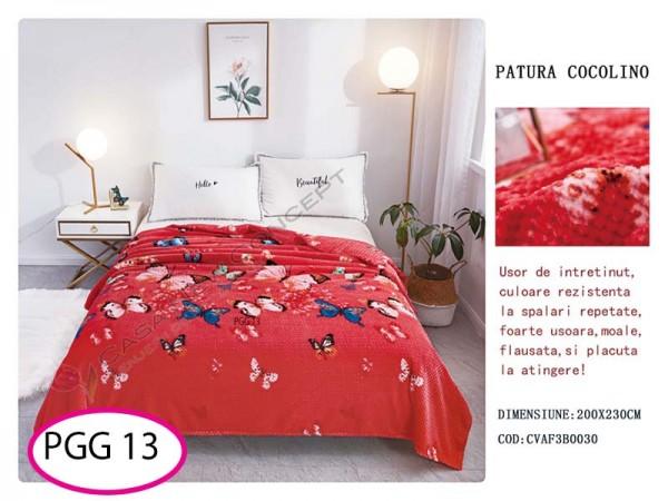 Patura Pufoasa Cocolino Grofata pentru pat dublu PGG 13