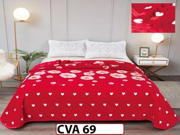 Patura Pufoasa Cocolino pentru pat dublu CVA69