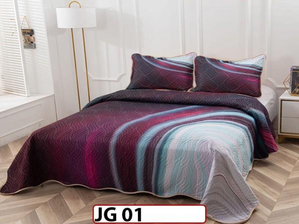 Cuvertura cu 3 piese din BUMBAC 100% JG01