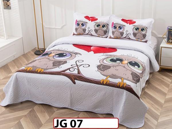 Cuvertura cu 3 piese din BUMBAC 100% JG07