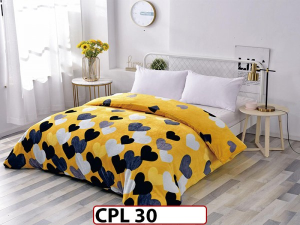 Patura Pufoasa Cocolino pentru pat dublu CPL30
